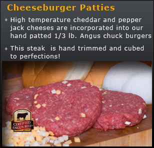 Cheeseburger Patties